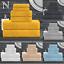 De-Lujo-cero-Twist-600GSM-6-Pc-Conjunto-de-toallas-de-bano-Juego-de-toallas-de-mano-Toalla-de-Bano miniatura 1