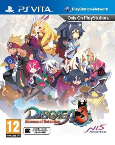 Vita-Disgaea 3 Absence of Detention /Vita  GAME NEUF