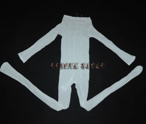 Men/'s Sheer Full Body Nylon Pantyhose Tights Lingerie Crotch Open Sheath Close
