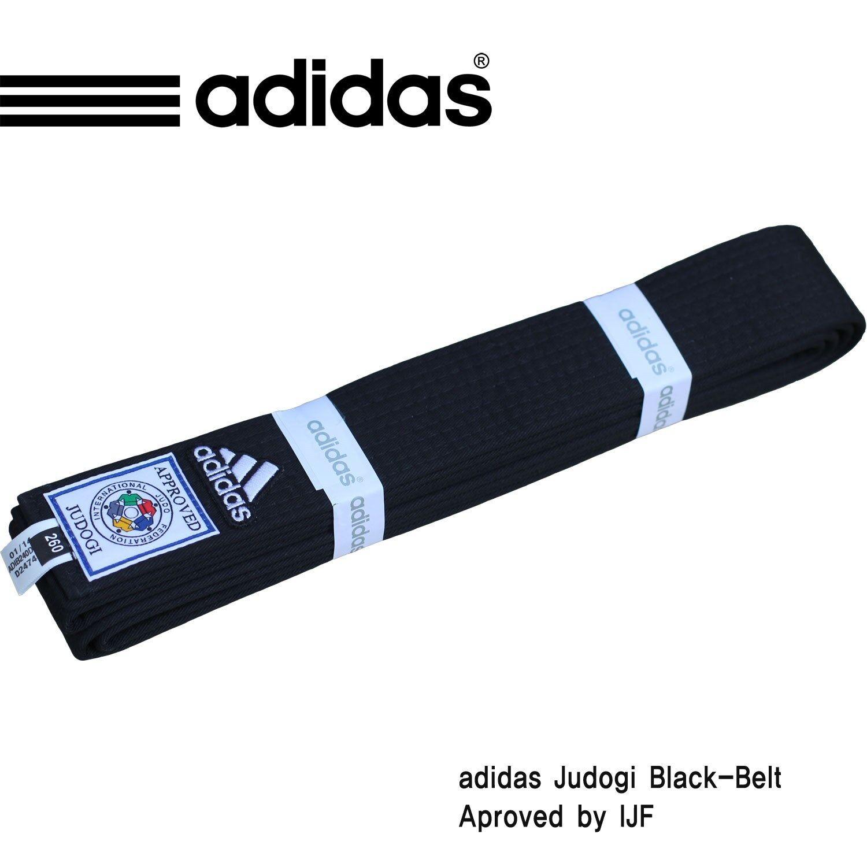 Adidas Belt(Width Elite Judo Black-Belt/Judo Black Belt(Width Adidas 5cm)/APROVED BY IJF d810a1