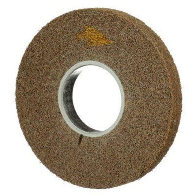 Scotch-Brite 03733 Cut and Polish Unitized Wheel 15100 RPM 3 x 1//2 x 3//8 7A CRS 3 Diameter Pack of 20 Abrasive Grit