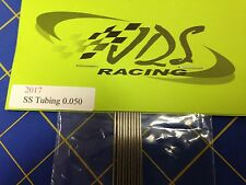 JDS Stainless steel chassis tubing .050 1/24 Drag Slot Car Mid America Raceway