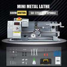 Benchtop Mini Metal Lathe Cutting Machine For Wood Amp Metal 8x14 600w 2500rpm