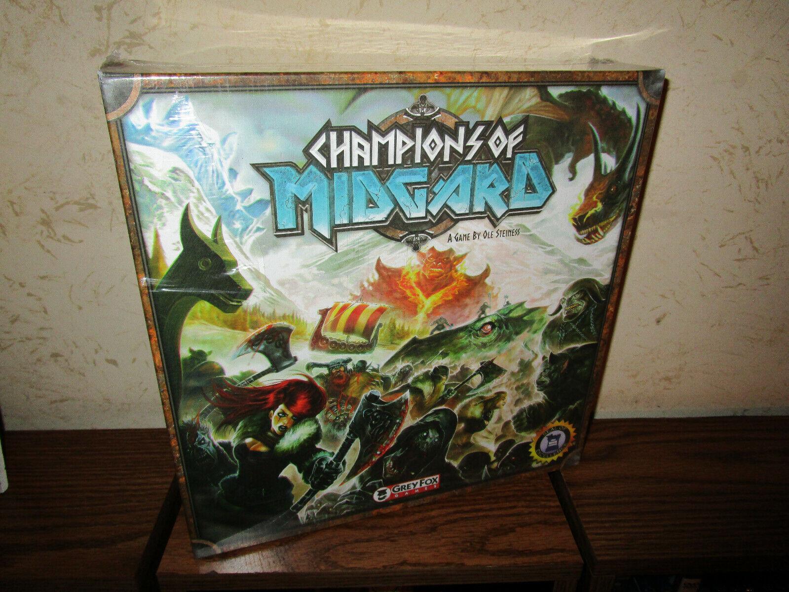 Grey Fox Games - Champions of Midgard Base Game