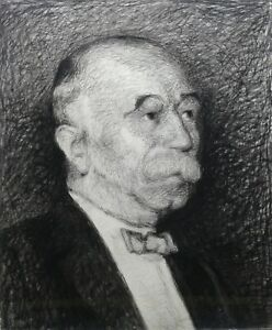 Portrait-of-M-Duhamel-Notable-of-Bourges-Ink-and-Gouache-Berry-Cheap-1910