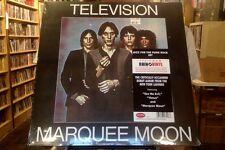 Television Marquee Moon LP sealed 180 gm vinyl RE reissue Rhino
