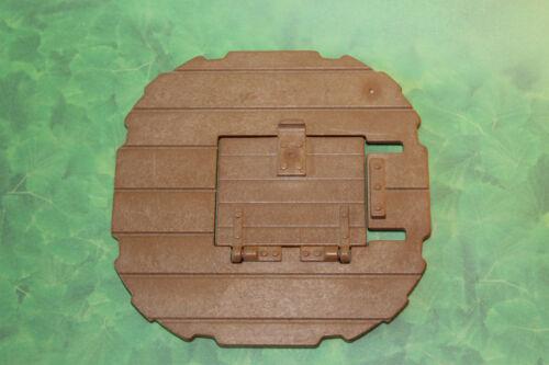 PLaymobil Platte Grundplatte mit Falltür zu Rundturm 3665 3666 3667 3123 5725