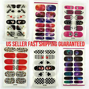 Quality-Nail-Foil-Wrap-Tips-Stickers-Decals-Vinyl-Nail-Art-Manicure-Decoration