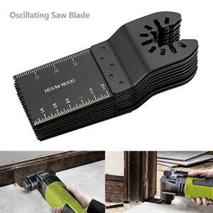 10-PCS-34mm-oscillating-Multi-tool-saw-blades-Carbon-Steel-Cutter-DIY-universal