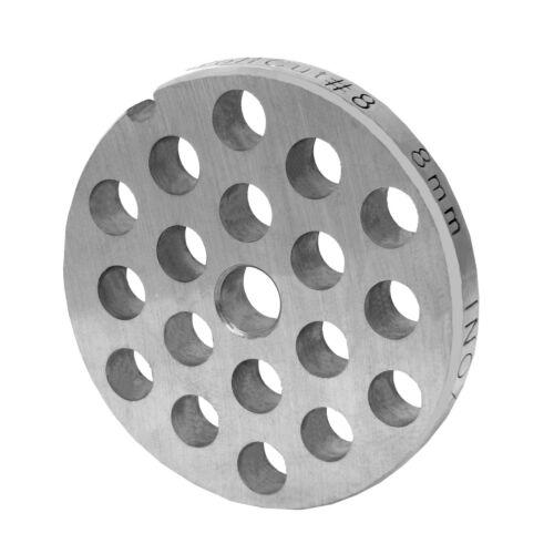 3mm+8mm  Bohrungdurchmesser Lochscheibensatz für Fleischwolf Größen 8