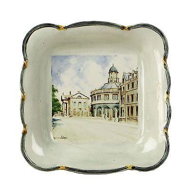 Spencer Edge Vintage Hand Painted The Sheldonian Oxford Souvenir Bonbon Dish