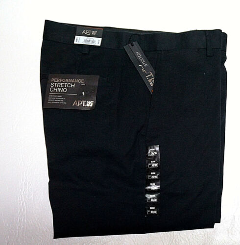 38 Pants 9 Mens 34 Apt 29 30 Chino Performance 31 Fit New Slim 36 Stretch 33 32 4Zwd0wq