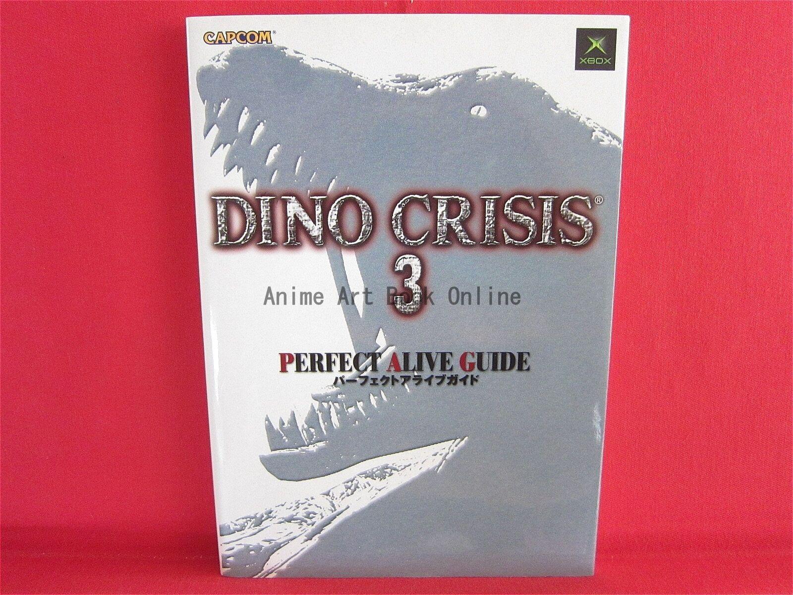 DINO CRISIS 3 Perfect Alive Guide Book   XBOX