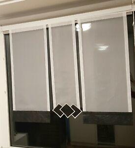 Bistrogardine Gardinen Set Flächen Vorhänge