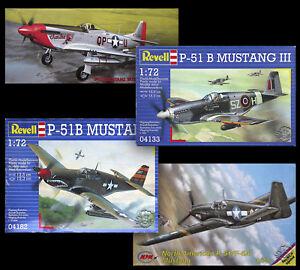 Hasegawa-MPM-Revell-1-72-North-American-P-51B-Mustang