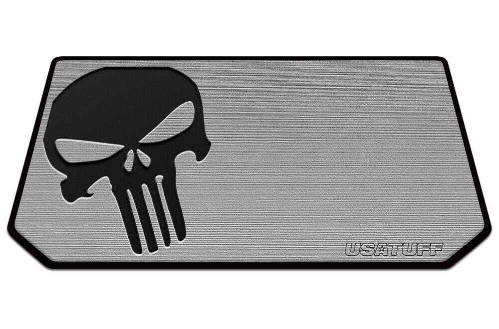 USATuff Cooler Pad for Grizzly 20qt - SeaDek Marine EVA Mat - G B - Skull