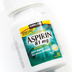 Aspirin 81 Mg Prophylaxis