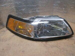 1999 2000 ford mustang passenger right side headlight ebay ebay