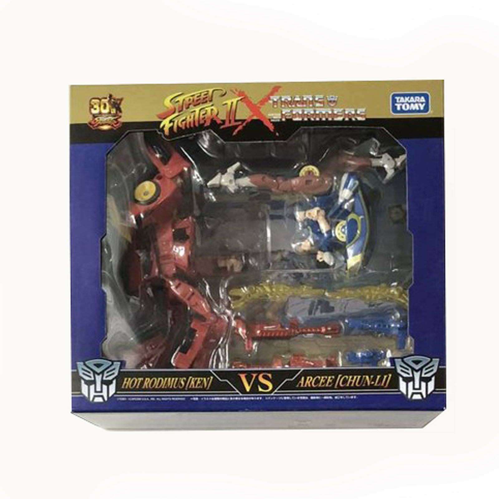 Transformers Street Fighter HOT RODIMUS Ken ARCEE ChunLi Action Figure Toy Robot