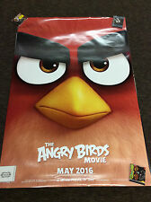 "The Angry Birds Movie 2016 4x6 48x72"" Bus Stop Shelter Double Sided poster"