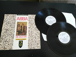 ABBA-THE-COLLECTOR-SERIES-2-X-LP-12-034-G-VG-UK-EDITION-1988-CASTLE-COMUNICATION