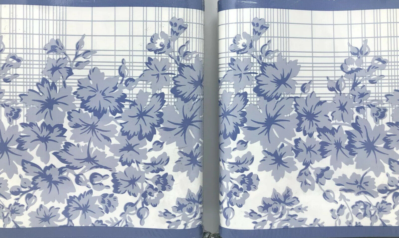 Laura Ashley Home Color Collection Wallpaper Border 10 Yds Blue