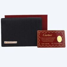 Auth CARTIER Agenda de Poche PM Santos Notebook Cover Day Planner Leather 60W964