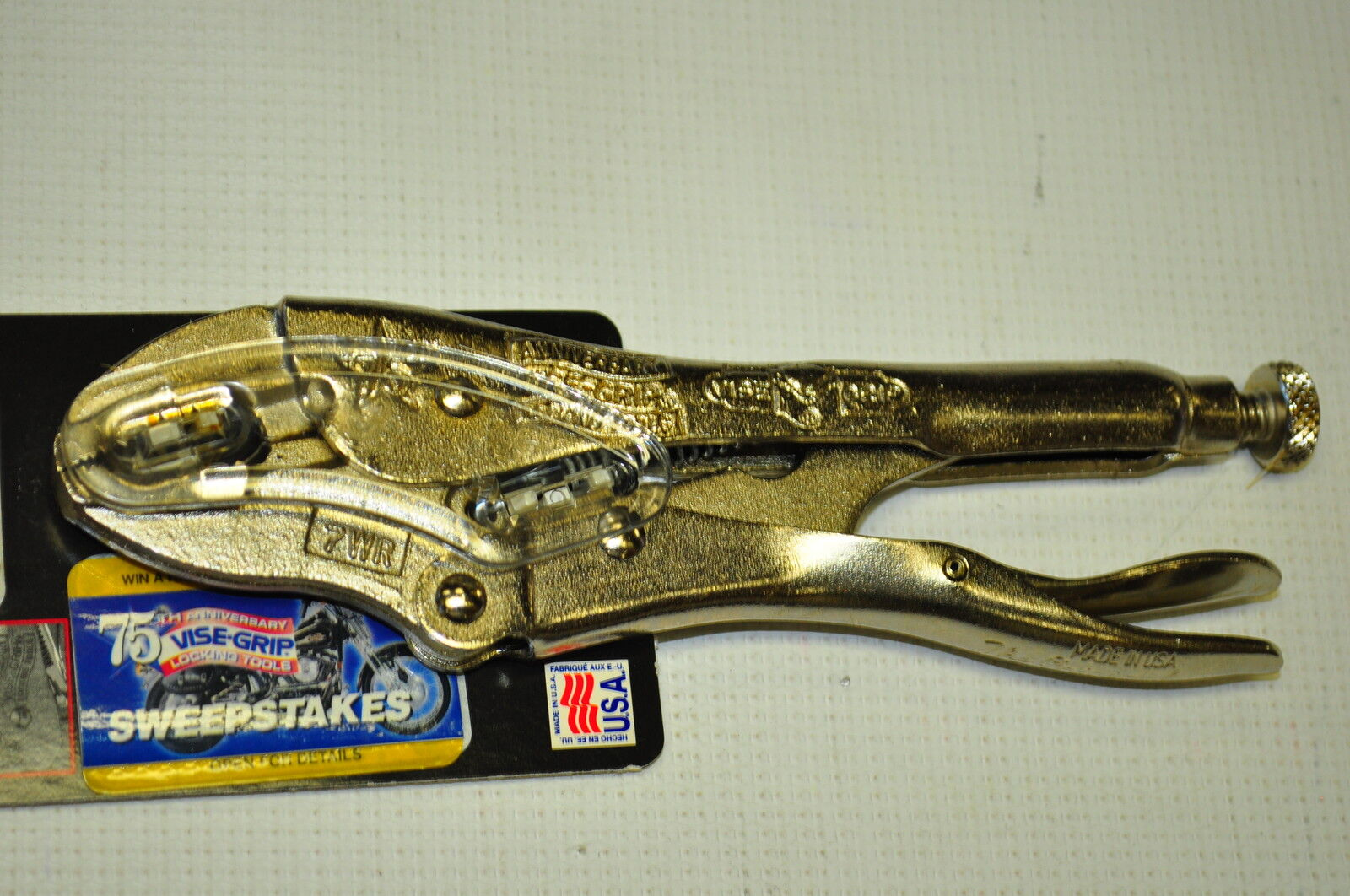 Vise Grip 75WR  75th Anniversary Year Year Year 1998 Limited Edition,7WR 7 WR Made in USA 20ce8d