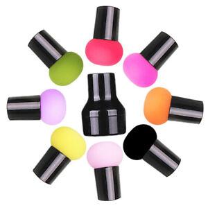 Cabeza-de-hongo-Puff-Mango-Maquillaje-Esponja-Humedo-y-Seco-BB-Crema-de-base-herramientas