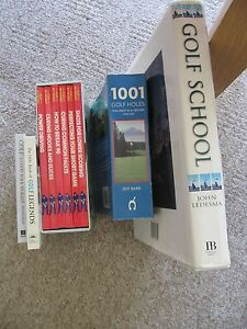Largs Set Of Golf Books Golf Schoolplay Better Golf Golf Legends