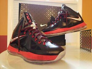 finest selection 3a33c f74a5 Details about 2012 Nike Lebron X+ Nike Plus (LBJ 10)