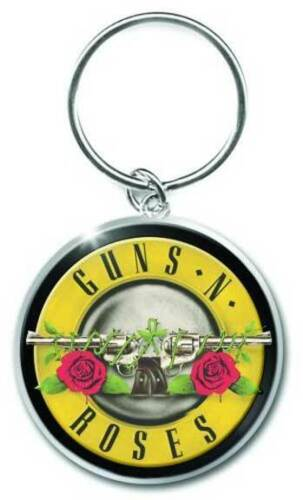 MUSIC GNRKEY01 BRAND NEW METAL KEYCHAIN GUNS N ROSES