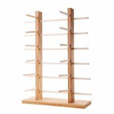 New Listingeyeglasses Stand Organizer 2 Rowwood Display Rack Glass Sunglasses 3456 Layer