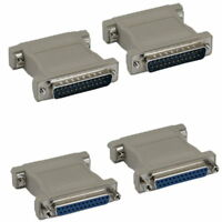Db25 25pin Male Female M/m F/f Parallel Serial Printer Port Molded Adapter Rs232