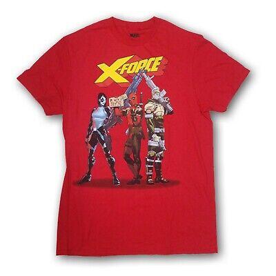 Marvel Avengers Men/'s X-Force Red Short Sleeve T-shirt