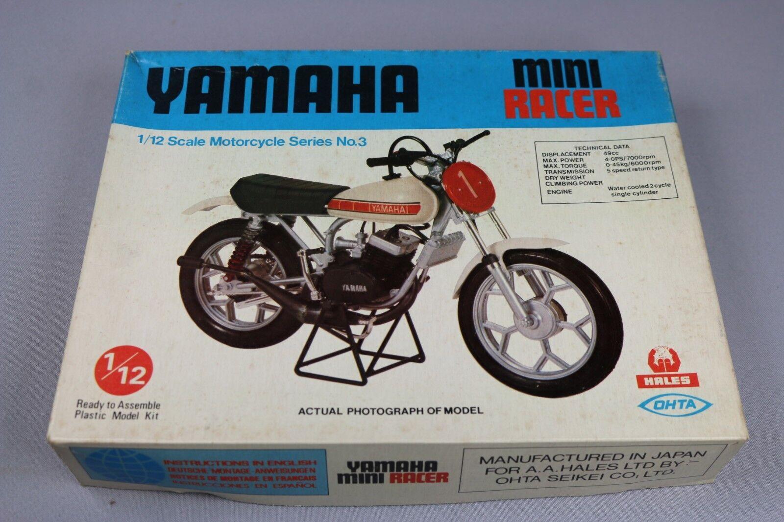 Zf1029 Hales Ohta 1 12 Modellino Moto M12013 Yamaha Mini Racer 2 Strokes