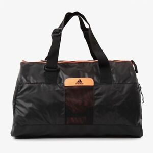 Adidas-Performance-Women-039-s-Perf-TB-S-Sports-Bag-Small-Black-Orange-New