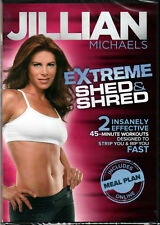 Jillian Michaels: Extreme Shed  Shred (DVD, 2011)