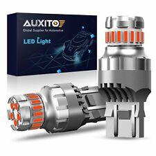 Auxito 7443 Led Strobe Flashing Blinking Brake Tail Light Parking Safety Bulb Ec