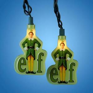 Elf Movie Christmas String Lights Will Ferrell Indoor Outdoor Kirt Adler