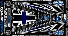 Triumph Sprint ST 1050 2005 - 2009 Motografix Rear Number Board 3D Gel Protector
