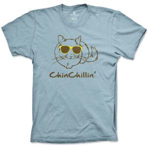 Chinchillin Chinchilla Carolina Blue Youth T-Shirt