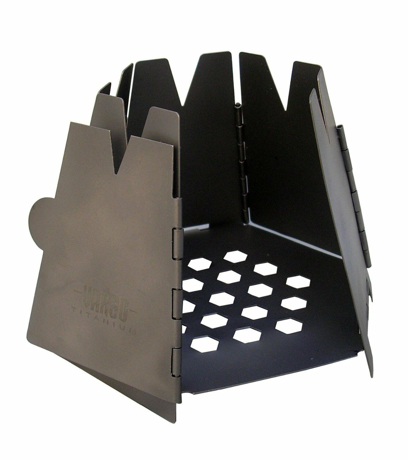 VARGO Japan Titanium Hexagon Wood Stove Stand