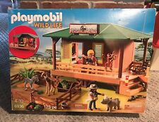 New Factory Sealed Playmobil #6936 Ranger Station with Animal Area
