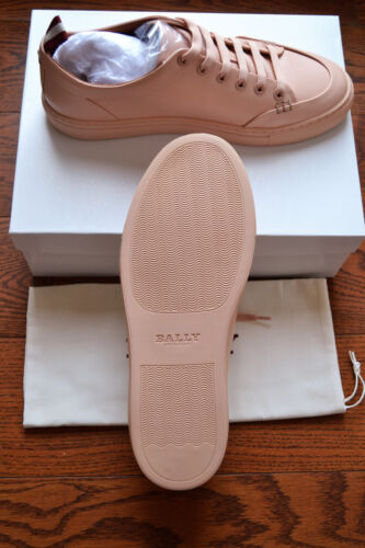 Schoenen8 top D Blush Sneakers Us Nib425 Dyed Leather Helliot Dip Bally Low by6gYf7v