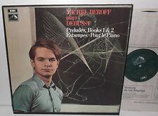 SLS 803/2 Michel Beroff Plays Debussy Preludes Books 1 & 2 Estampes 2LP Box Set