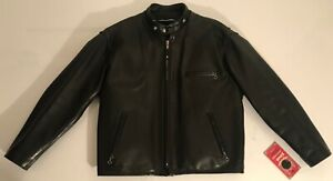 SCHOTT  141  CAFE RACER   RIDER  MOTORCYCLE  SIZE USA 48 / FRANCE - XL