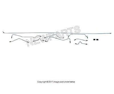 For Porsche 911 912 1968 9 Brake Lines /& 6 Line Isolators Brake Line Kit Uro