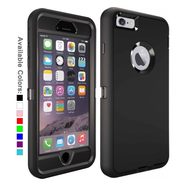 official photos ec9cd ca150 For Apple iPhone 6 & 6s Plus Case with | Belt Clip Fits Otterbox DEFENDER  SERIES