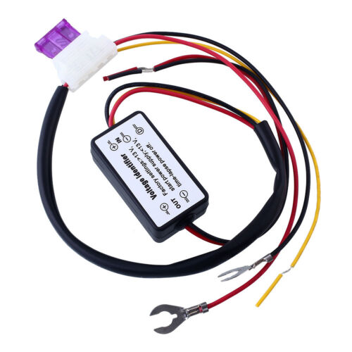 Car LED Light Relay DRL Controll ON//OFF Automatic Switch Controller DC12V